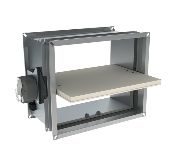 Optimised rectangular fire damper up to 120 - Promatect l500 coupe feu ...