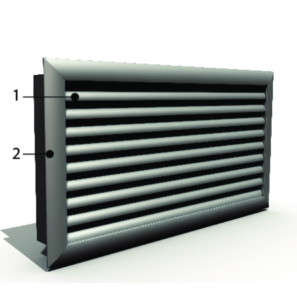 Aesthetic Fire Resistant Grill Up To 60 Minutes In Walls