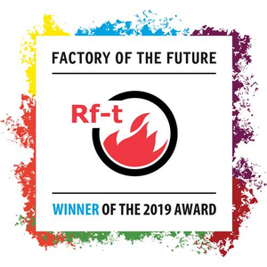 Rf-Technologies ontvangt de 'Factory of the Future' award
